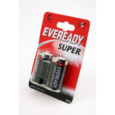 Элемент питания EVEREADY Super Heavy Duty R14 BL2